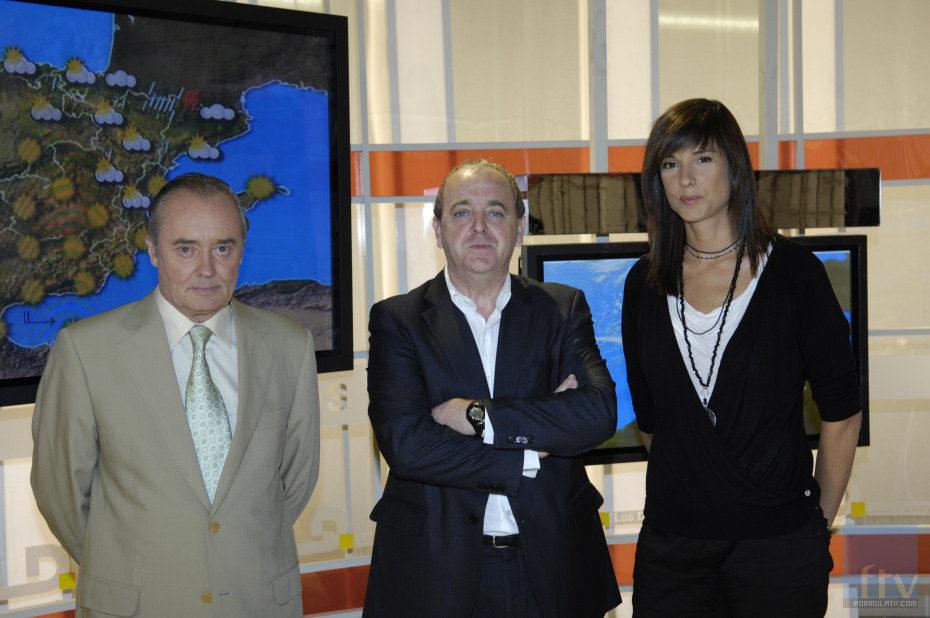 José Antonio Maldonado, Javier Pons y Mónica López