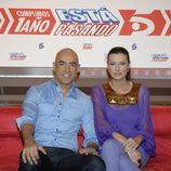 Emilio Pineda y Lucía Riaño
