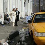 Marc y Wilhelmina en la serie 'Ugly betty'