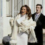 Marc y Wilhelmina durante en 'Ugly betty'
