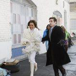 Marc y Wilhelmina en el capítulo 'Ugly betty'