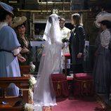 Boda entre Leonor y Claudio en 'Acacias 38'