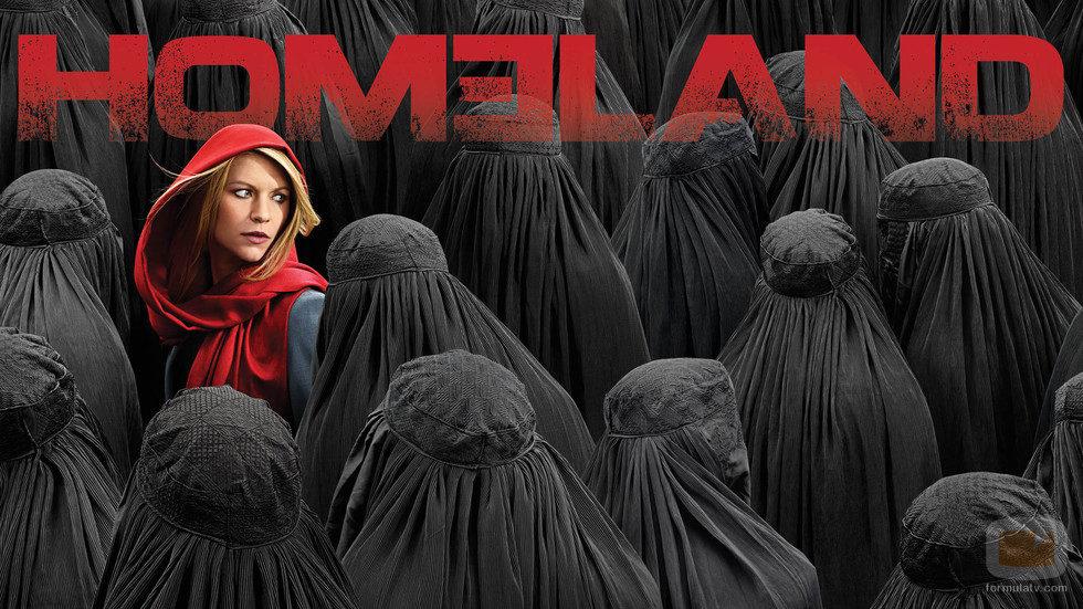 Cartel oficial de la cuarta temporada de 'Homeland'