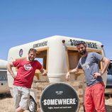 Los concursantes del Somewhere Cafe de 'Cocineros al volante'
