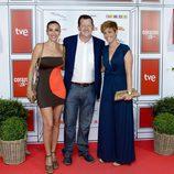 Carmen Romero, Carlos García-HirschfeldI y Marta Solano en el especial  de 'Corazón'