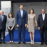 El rey Felipe VI visita Mediaset España con motivo de su 25 aniversario