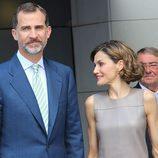 Visita de los reyes on motivo de la celebración del 25 aniversario de Mediaset España