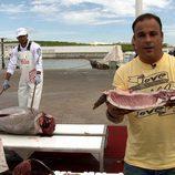 """Ángel León acude al """"ronqueo"""" de atún en Cádiz en el segundo capítulo de 'El Chef del Mar'"""