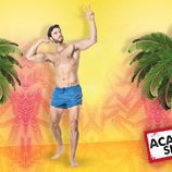 Fernando, participante de 'Acapulco Shore 2', presume de cuerpo