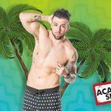Tadeo, participante de 'Acapulco Shore 2', luce cuerpo y nuevos tatuaje