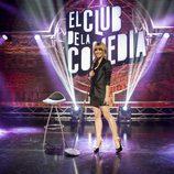 Alexandra Jiménez presenta la quinta temporada de 'El club de la comedia'