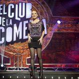Cristina Castaño en la quinta temporada de 'El club de la comedia'
