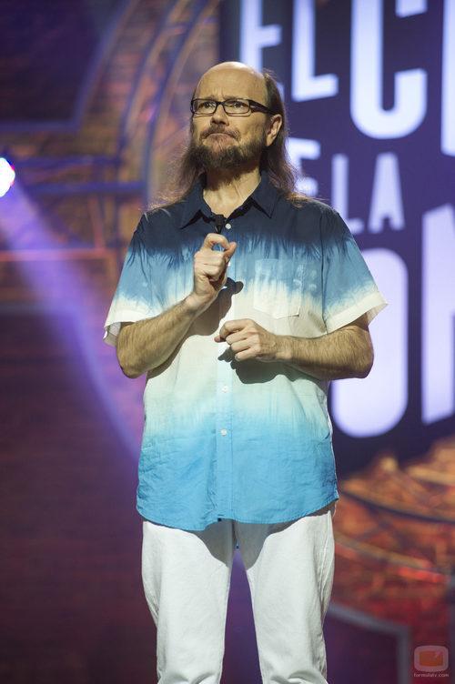 Santiago Segura en la quinta temporada de 'El club de la comedia'
