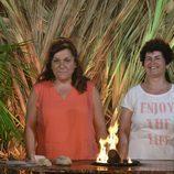 María José y Mari Carmen nominan en 'Pasaporte a la isla'