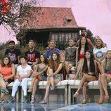 Los concursantes de 'Pasaporte a la isla'