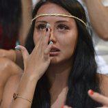 Lorena Da Souza se derrumba en 'Pasaporte a la isla'