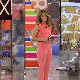 María Patiño vuelve a presentar 'Sálvame deluxe'
