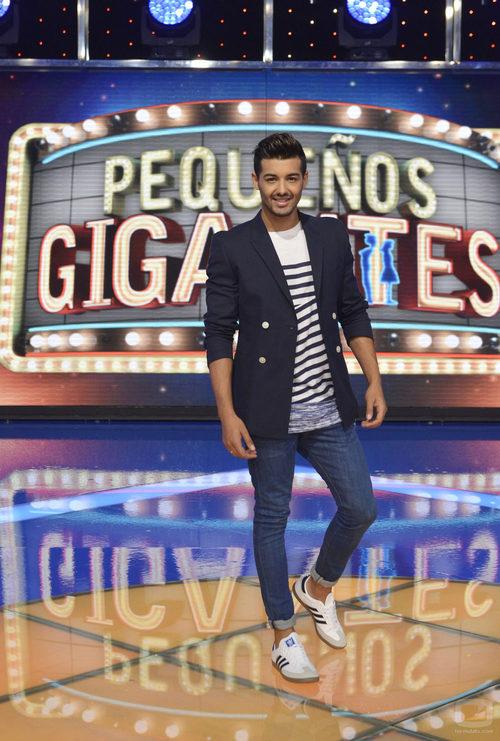 Jorge González se estrenará como padrino en 'Pequeños Gigantes'