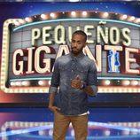 Sergio Alcover forma parte de los padrinos de 'Pequeños Gigantes'