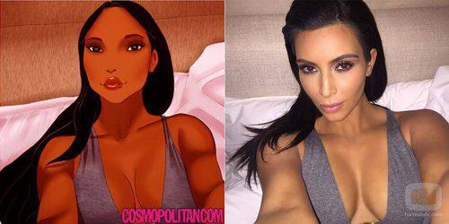 Pocahontas se convierte en Kim Kardashian