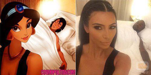 Jasmine se convierte en Kim Kardashian