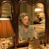 Violet Crawley posa para la foto promocional de 'Downton Abbey'