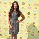 Gina Rodríguez en el photocall de los Teen Choice Awards 2015