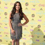 Gina Rodríguez en el photocall de los Teen Choice Awards 2015
