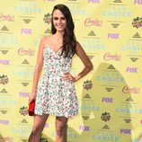 Jordana Brewster en el photocall de los Teen Choice Awards 2015
