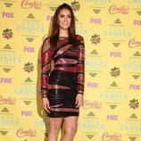 Nina Dobrev posa en el photocall de los Teen Choice Awards 2015