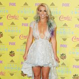 Britney Spears en la alfombra roja de los Teen Choice Awards 2015