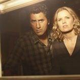 Cliff Curtis y Kim Dickens en 'Fear The Walking Dead'
