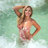 Rebeca Pous emerge de las aguas para  Qué me dices