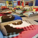 Dormitorio al estilo pop de la casa de 'Celebrity Big Brother' de Channel 5