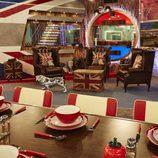 Así es el comedor de la nueva casa del 'Celebrity Big Brother' de Channel 5