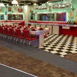 El estilo de los años 50 reina en la cocina del 'Celebrity Big Brother'