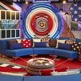 El salón y la entrada de la casa del 'Celebrity Big Brother' de Channel 5