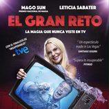 """Leticia Sabater y el Mago Sun en """"El gran reto"""""""