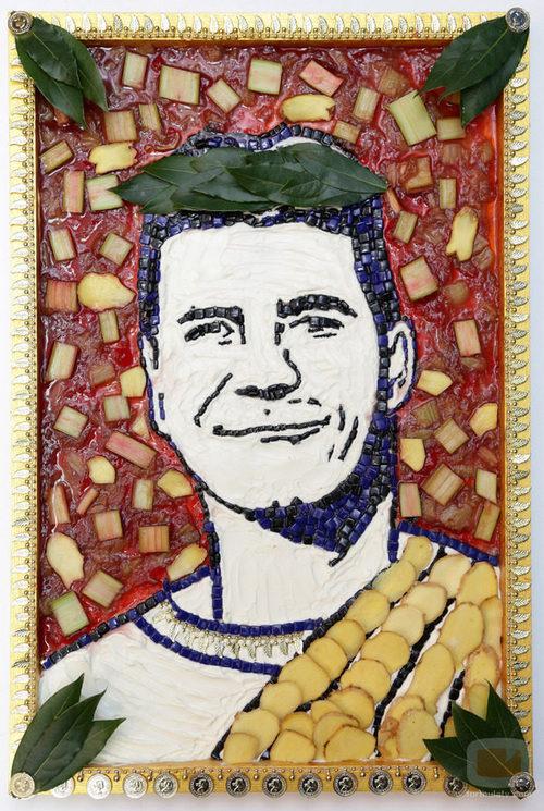 Simon Cowell, jurado de 'The X Factor', se convierte en Dios griego