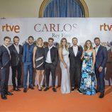 El reparto de 'Carlos, Rey Emperador' en el FesTVal
