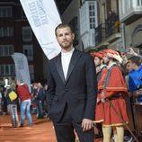 Álvaro Cervantes en el estreno de 'Carlos, Rey Emperador' en el FesTVal