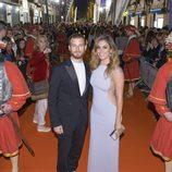 Blanca Suárez y Álvaro Cervantes en el estreno de 'Carlos, Rey Emperador' en el FesTVal