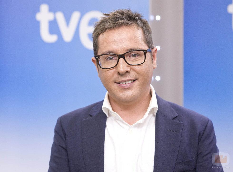 Sergio Martín, director del Canal 24 Horas y presentador de 'La noche en 24 horas'