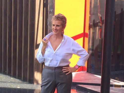 Mercedes Milá presume de cambio de look en la presentación de 'GH16'