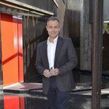 Jordi González posando para la prensa en la presentación de la nueva edición de 'GH'
