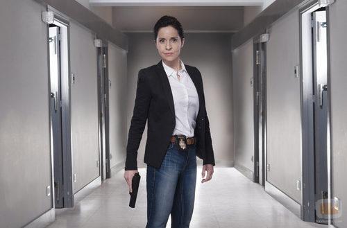 Adriana Ozores interpreta a la inspectora Rubio en 'Rabia'