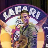 Gotzon Mantuliz, presentador del reality 'Safari Wazungu'