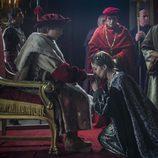 Germana de Foix jura a Carlos en Castilla en 'Carlos, Rey Emperador'