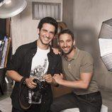 Fran Perea y Dani Rovira, los actores que interpretan a Mario y Juan en 'B&b, de boca en boca'