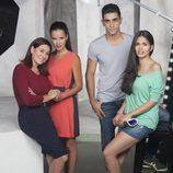 Luisa Martín, Paula Prendes, César Mateo y Sara Sálamo en lo nuevo de 'B&b, de boca en boca'